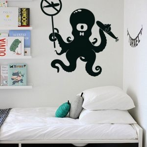 Vinylize Wall Deco - Octopus Wall Sticker