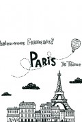 Vinylize Wall Deco - Doodle Paris Wall Sticker
