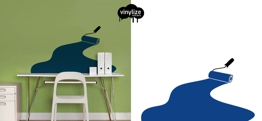 Vinylize Wall Deco - My Vinyl Brush - Wall Sticker