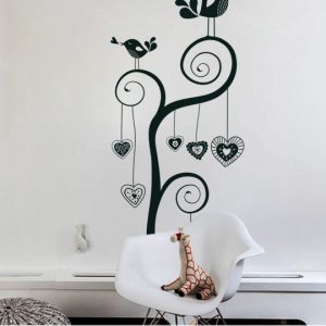 Vinylize Wall Deco - Sweet Birds Wall Sticker