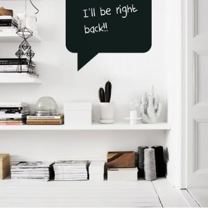 Blackboard Sticky Note a Wall Sticker by Vinylize Wall Deco