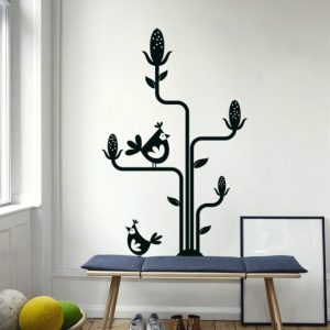 Vinylize Wall Deco - Corn Tree - Wall Sticker