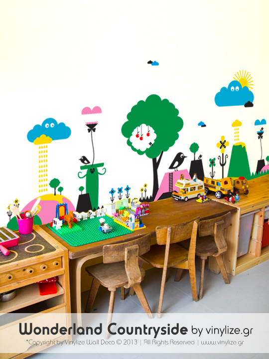 Wonderland Countryside a Wall Sticker by Vinylize Wall Deco_wall_sticker_en_01
