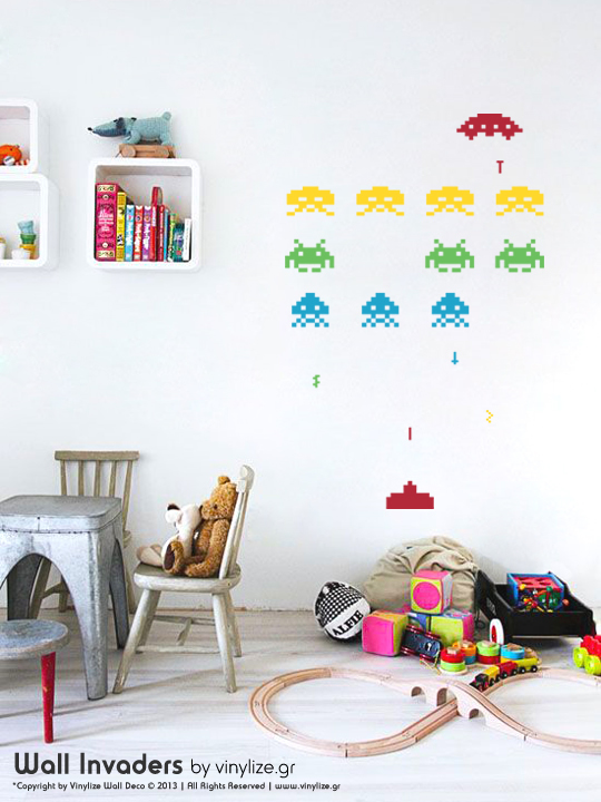 Vinylize Wall Deco - Wall Invaders - Wall Sticker