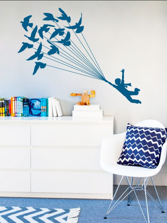 Little Prince #1 a Wall Sticker by Vinylize Wall Deco