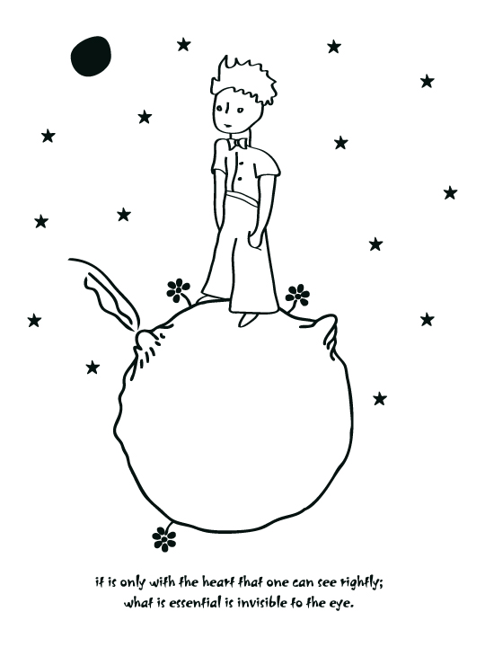 Little Prince 2 Wall Sticker Vinylize Wall Deco