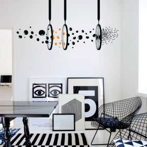 Vinylize Wall Deco - Magic Fan - Wall Sticker