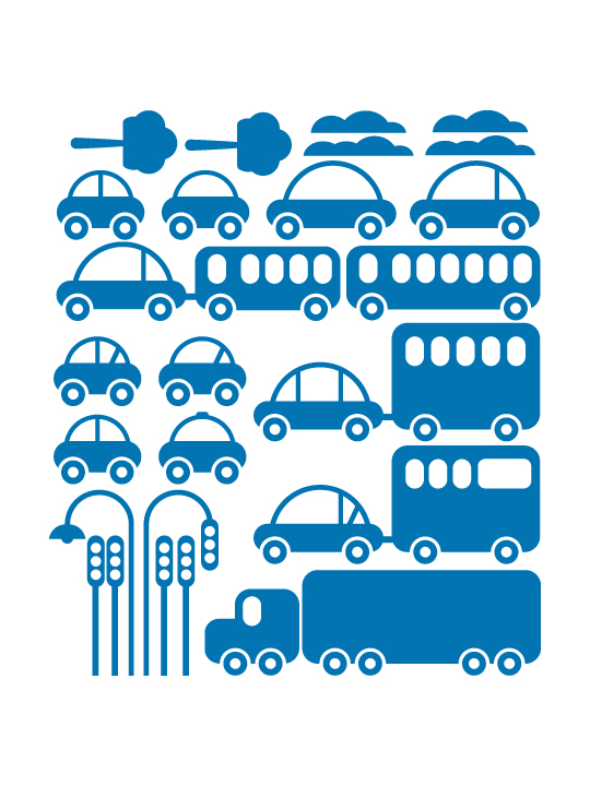 Mini Toy Cars a Wall Sticker by Vinylize Wall Deco