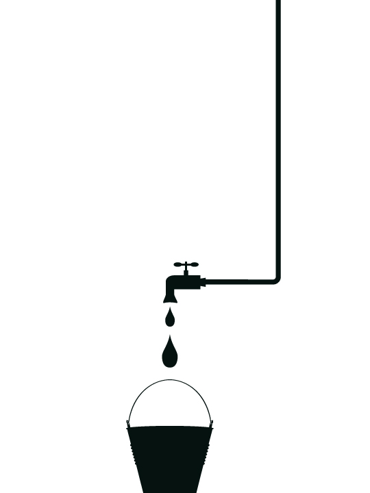 Mini Drips Drips a Wall Sticker by Vinylize Wall Deco
