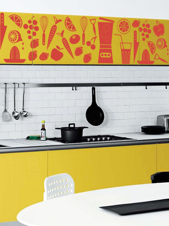 Mini Kitchen Set #2 a Wall Sticker by Vinylize Wall Deco