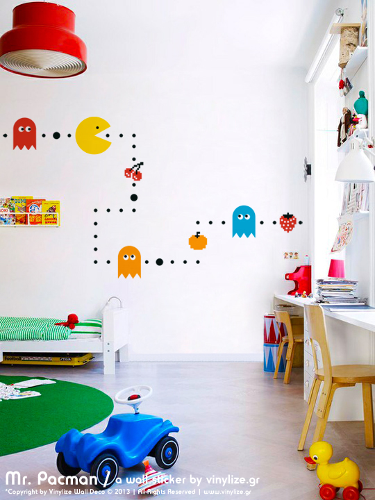 Mr. Pacman a Wall Sticker by Vinylize Wall Deco