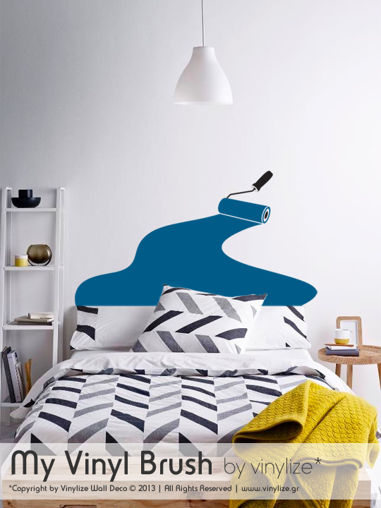 My Vinyl Brush a Wall Sticker by Vinylize Wall Deco