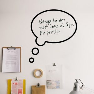 Mini Notepad #2 a Wall Sticker by Vinylize Wall Deco