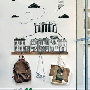 [:en]Doodle Athens - a Vinylize Wall Deco Sticker[:el]Αυτοκόλλητο Τοιχου - Doodle Athens από το Vinylize Wall Deco