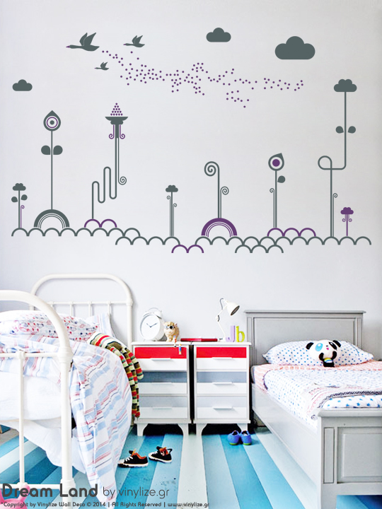 [:en]Dream Land - Wall Sticker[:el]Αυτοκόλλητο Τοιχου Dream Land