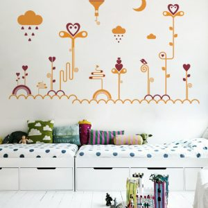 [:en]Heart Land a Wall Sticker by Vinylize Wall Deco[:el]Αυτοκόλλητο Τοιχου Hear Land από το Vinylize Wall Deco