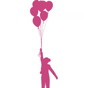 Balloon Fly a Wall Sticker by Vinylize Wall Deco