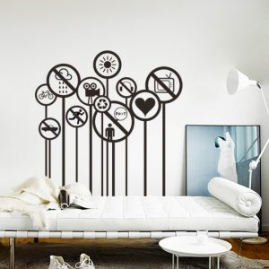 Vinylize Wall Deco - Restricted Wall Sticker